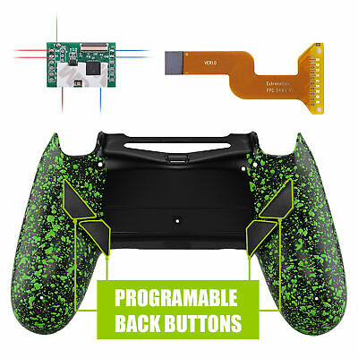 AU37.90 • Buy Green Shell Programable Remap Kit W/ 4 Back Buttons For PS4 Slim Pro Controller