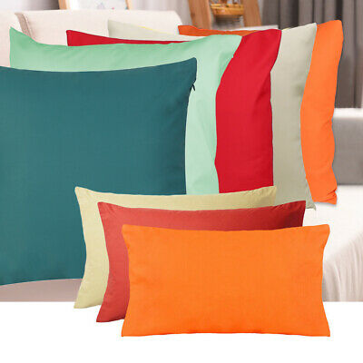 £4.95 • Buy Waterproof Garden Cushion Cover For Furniture Cane Cushions Seat Bench Outdoor