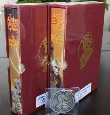 Erb Limited Editions  John Carter Of Mars  Matching Numbers Illustrated Slipcase • 339.99$