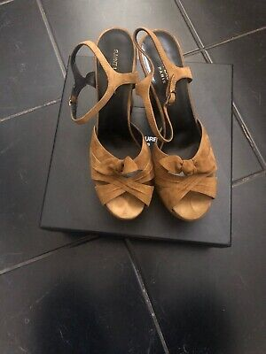 100% Genuine YSL Shoes, Size 40 UK7 RRP £620 • 120£
