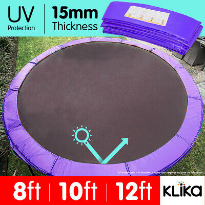 AU54 • Buy REPLACEMENT TRAMPOLINE PAD OUTDOOR ROUND SPRING COVER PURPLE 8 Ft 10 12 14ft