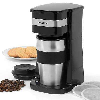 £25.95 • Buy Salter 700W Coffee Maker To Go 420ml Personal Filter Coffee Machine