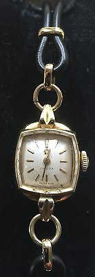 Fabulous 1940s Art Deco Ladies 18ct Gold Omega Cocktail Type Wristwatch • 808.50£