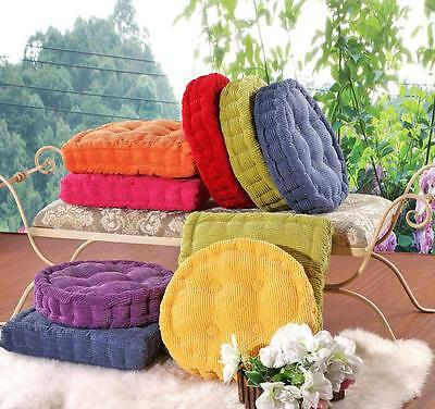 £9.99 • Buy Soft Seat Booster Cushion Pads Round Chair Pad Cushion Floor Mat Home Decor