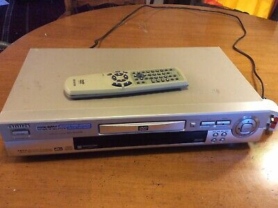 Aiwa DVD/CD Player XD-DV370 With Remote Control • 22£