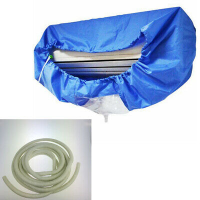 AU26.79 • Buy Home Air Conditioner Protector Waterproof Cleaning Cover Anti-dirty Cloth Bag
