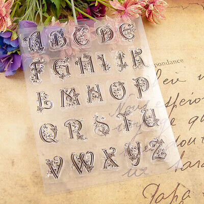 £2.49 • Buy Butterfly Letter Silicone Clear Stamp Transparent Stamps DIY Scrapbooking Craft
