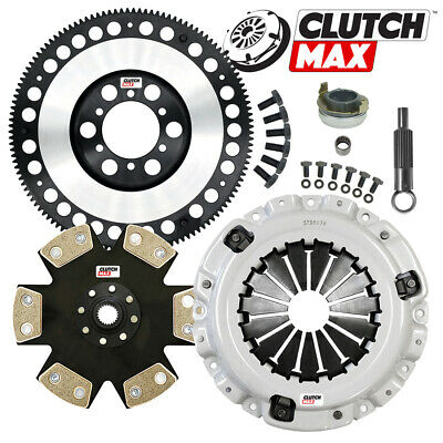 £155.12 • Buy STAGE 4 CLUTCH KIT And CHROMOLY LIGHT WEIGHT FLYWHEEL For MAZDA RX8 RX-8 6-SPEED
