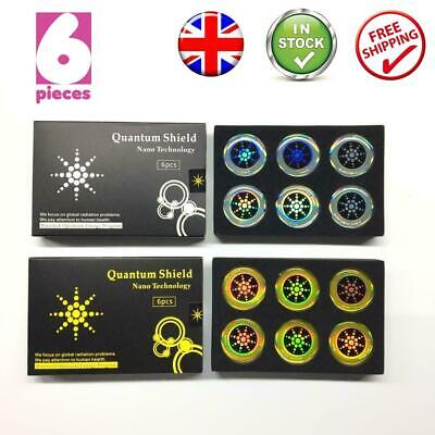 X6 EMF Protection Quantum Anti Radiation Tablet Laptop Phone Mobile Stickers UK • 4.99£