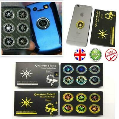 X6 EMF Protection Quantum Anti Radiation Tablet Laptop Phone Mobile Stickers UK • 5.49£