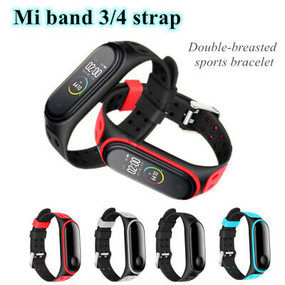 For Xiaomi Mi Band 3 4 Strap Replacement Bracelet Silicone Wristband Watch Band • 2.49$