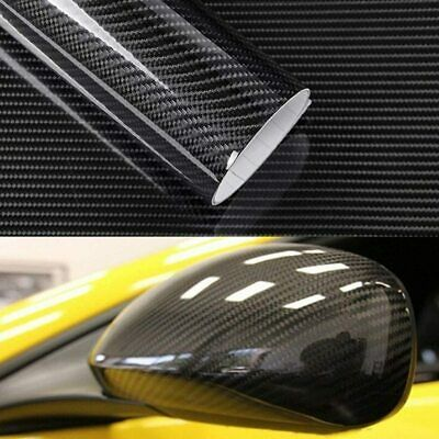 $15.95 • Buy 7D Glossy Carbon Fiber Vinyl Film Car Interior Wrap Stickers Auto Accessories