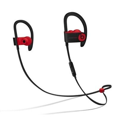 $39.99 • Buy Beats Powerbeats3 Wireless Ear-Hook Headphones Decade Collection Black/Red MRQ92