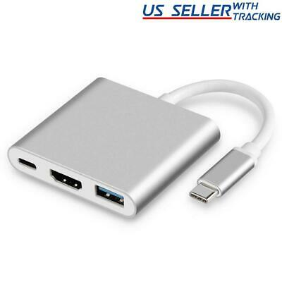$8.28 • Buy USB Type C To HDMI HDTV TV Cable Adapter Converter Hub For Macbook Android Phone