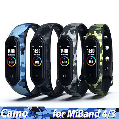 $1.56 • Buy For Xiaomi Band 4/3 Mi Band 4 3 Bracelet Strap Silicone Wristband Smart Watch