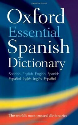 Oxford Essential Spanish Dictionary,Oxford Dictionaries • 4.39£