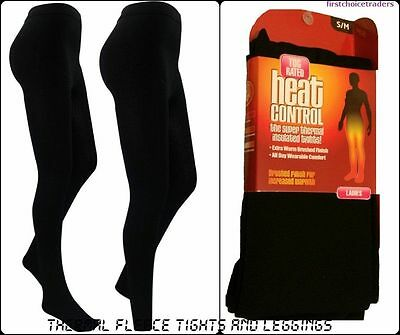£3.99 • Buy Thermal Ladies Women Girls Soft Fleece Lined Thick Warm Winter Tights