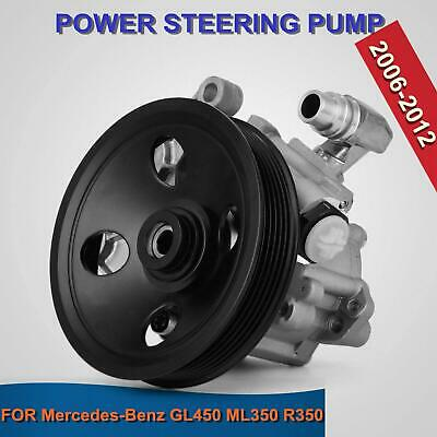 Power Steering Pump For 06-11 Mercedes Benz ML350 ML550 GL450 R350 W/Pulley • 42.99$