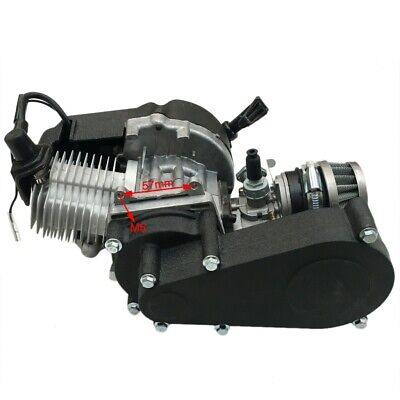 AU106.99 • Buy 50cc 47cc 49cc 2 Stroke Motor Engine For Pocket Dirt Bike Scooter Mini Quad ATV