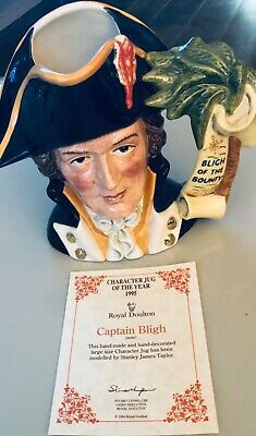 Royal Doulton Captain Bligh ~ D6967 ~ Large ~ • 49.35£
