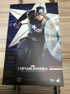 $300 • Buy Captain America Stealth Strike Suit The Winter Soldier Hot Toys MMS 242