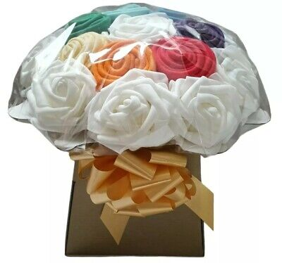 Rainbow Baby Bouquet Of Baby Clothes, Baby Shower Gift, Nappy Cake, New Baby • 15.99£