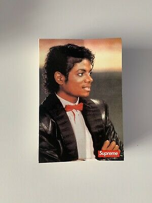 $ CDN10.26 • Buy Supreme Michael Jackson Sticker 100% AUTHENTIC