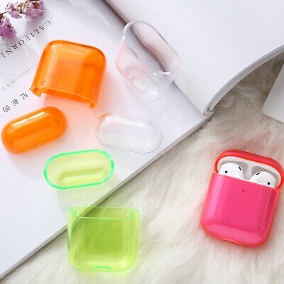 $ CDN1.80 • Buy For Apple AirPods Transparent Case Cover AirPod Candy Color Hard PC Protector