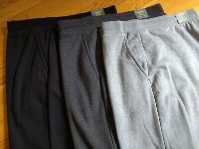 $21.50 • Buy NWT Mens Tek Gear Ribbed Ankle Streamline Fit Ultra Soft Jogger Pants Sweatpants