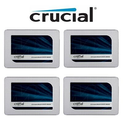AU36.95 • Buy SSD 240G 250G 120G 480G Crucial MX500 BX500 Solid State Drive Laptop 2.5 SATAIII