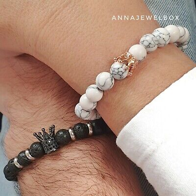 £7.95 • Buy Cute Matching Relationship Promise Distance Couples Bracelets For Him And Her UK