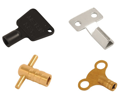 Radiator Bleed Key And Electricity Gas Meter Box Key - Square Triangle Key • 2.49£
