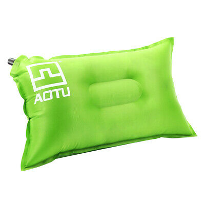 AU19.99 • Buy Air Practical Outdoor Inflatable Camping Pillow - Green
