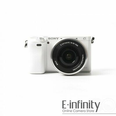 $ CDN703.54 • Buy NEW Sony Alpha A6000 Mirrorless Digital Camera With 16-50mm Lens (White)
