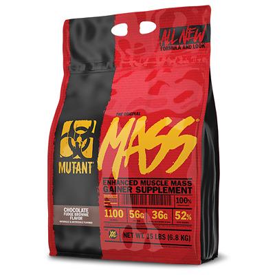 £49.95 • Buy PVL Mutant Mass 6.8kg / 15lbs Muscle Gainer **FREE NEXT WORKING DAY DELIVERY**