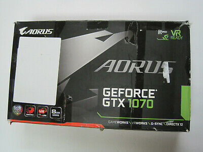 $ CDN506.97 • Buy Gigabyte AORUS GeForce GTX 1070 8GB (GV-N1070AORUS-8GD) Graphics Card