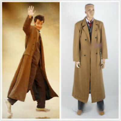 Who 10th Doctor David Tennant Doctor Who Cosplay Costume Suit Uniform Set A.3112 • 55.10£
