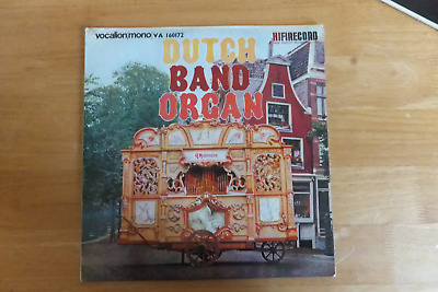 Organ Music-dutch Band Organ-hifi Records/vocalion-va-160172-1960-uk Issue • 12.99£