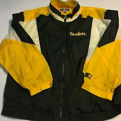 new product 7bf4b b25af steelers jacket xl
