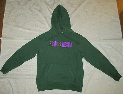 $ CDN221.42 • Buy F*cking Awesome FA Embroidered Hoodie Green Size M Medium Jason Dill Supreme