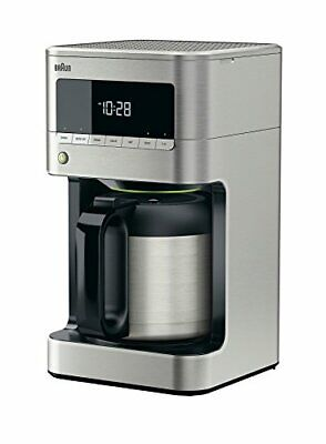 View Details Braun BrewSense Drip 10 Cup Coffee Maker With Thermal Carafe Stainless Steel NIB • 94.88£