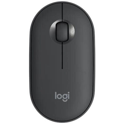 AU39 • Buy Logitech Pebble Wireless Mouse (Graphite) Free Postage