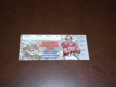 $9.99 • Buy 2000 Senior Bowl College Football Ticket Stub Chad Pennington Marshall Jets Mvp