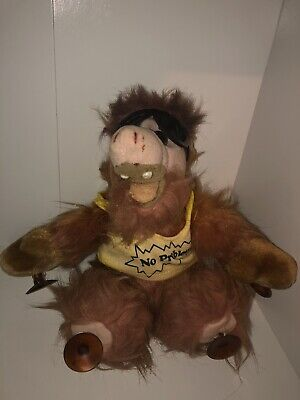 """Vintage Alf Plush 8"""" Suction Cup Doll No Problem T-Shirt Shades Toy TV Show Rare • 16.99$"""