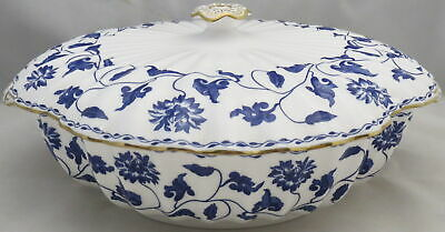 Spode Colonel-Blue Round Covered Vegetable • 277.92£