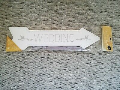 Selection Of Wedding Arrow Signs - NEW • 2£
