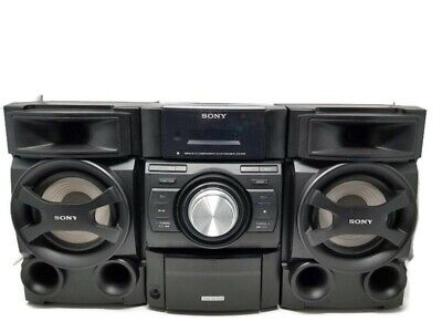 Sony MHC-EC69i Mini Hi-Fi Component Stereo System CD Player W/ IPod Dock TESTED • 75$