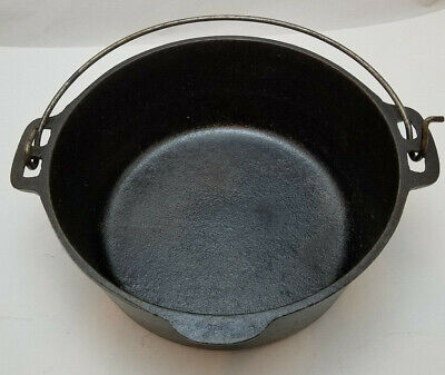 $ CDN54.54 • Buy Wagner's 1891 Original Cast-iron Cookware 5Qt. Dutch Oven Made In USA