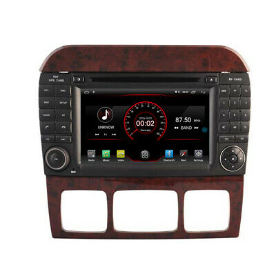 $281.99 • Buy Car GPS Radio Navi For Mercedes Benz S Class W220 1998-2006 7  Android 10 Dab