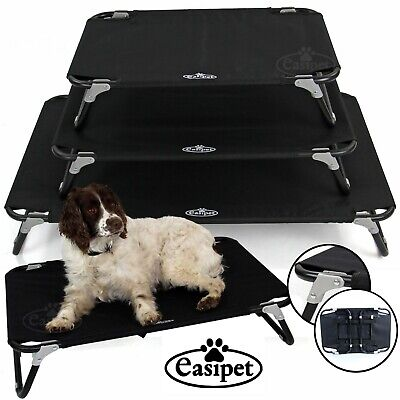 Elevated Dog Bed Pet Cat Raised Folding Camping Cot Indoor Outdoor Waterproof   • 19.99£